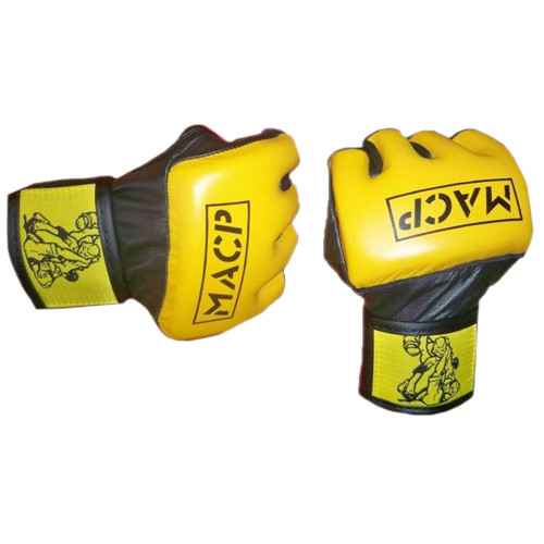MACP Yellow Fight Gloves 4oz