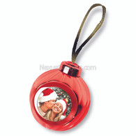 Voice Recording and Photo Christmas Ornament