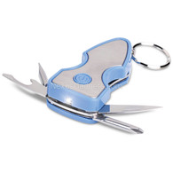 Multitool with Key Light - Blue