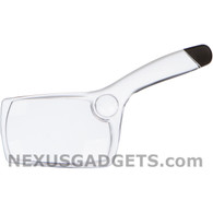 Clear Plastic Magnifying Glass 2x/6x