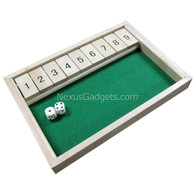 Erana Shut the Box Game in Light Wood