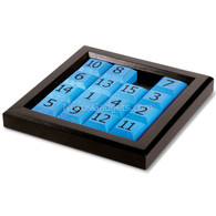 Shema Sliding Number Puzzle in Wood