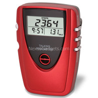 Talking Pedometer - Red