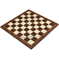 "Carrizo 20"" Tournament Chess Board in Walnut Wood - BOARD ONLY"