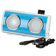 Rechargeable Travel MP3 Player with Speakers