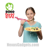 Dino Sticks - Dinosaur Chopsticks (Set of 8)