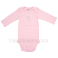 Organic Baby Shirt (set of 3) (Long Sleeves/Pink/Medium)