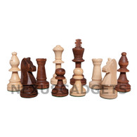 "Guger Chess Pieces - 3.5"" King - BOARD NOT INCLUDED"