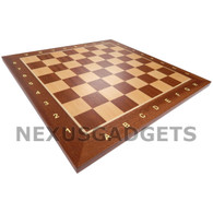 "Sapele 15"" Chess Board - BOARD ONLY"