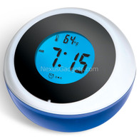 Talking Bobble Alarm Clock - Round