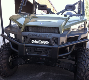 Polaris ranger xp900 570 full size grille led light bar utv nut polaris ranger xp 900 570 grille led light bar kit mozeypictures Choice Image