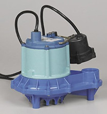 Little Giant 509331 9EH-CIA-VDS 4/10 HP, 70 GPM - Automatic Submersible Sump Effluent Pump