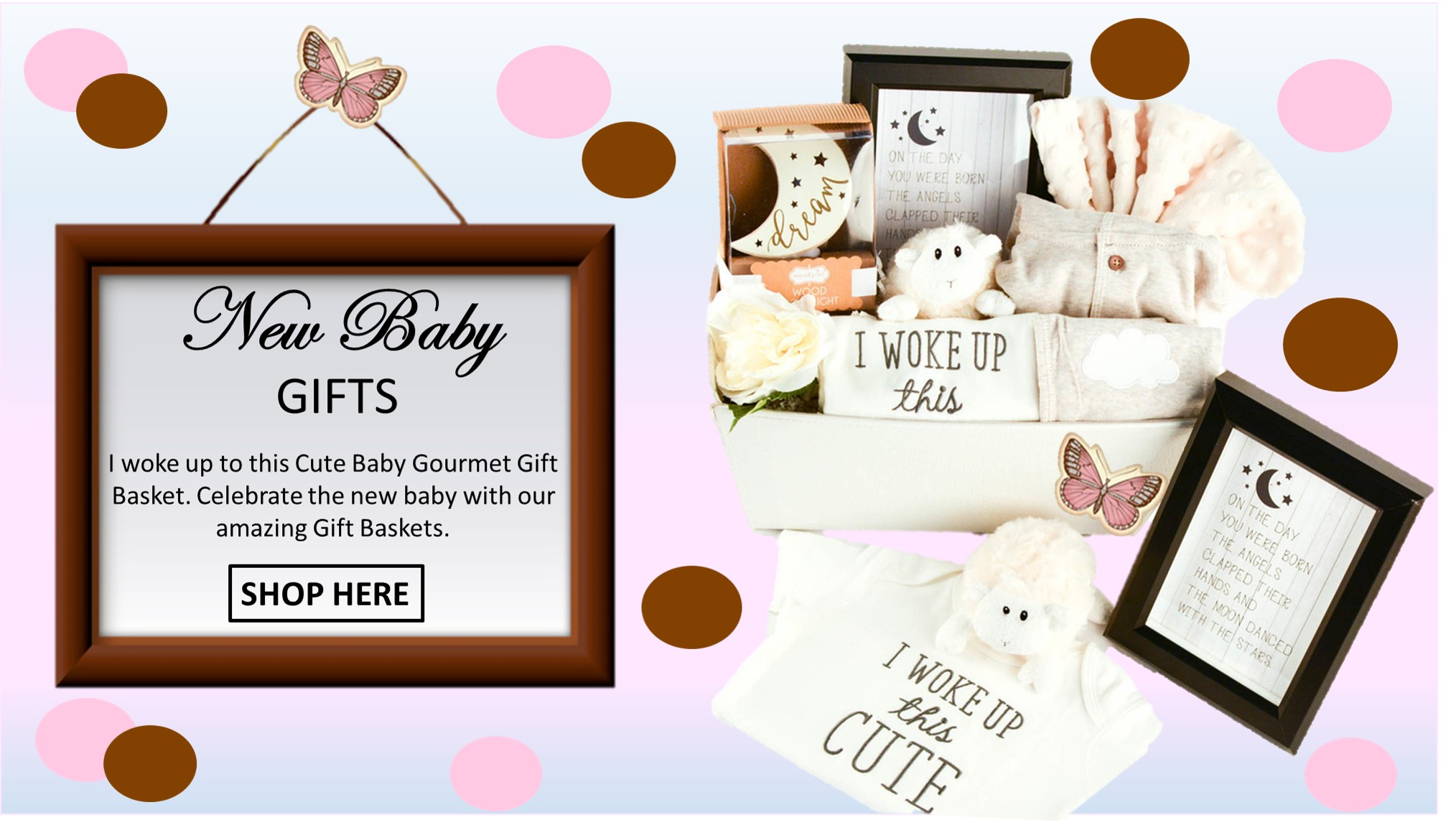 Baby Gift Baskets Wa : Twana creations gift baskets