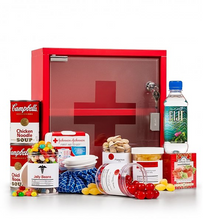 You'll have them feeling better in no time with this unique and fun collection of get well gifts, delivered in an authentic medicine chest.