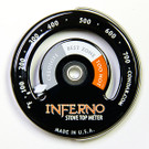 Inferno Stove Top Surface Thermometer Magnetically Attached Meter by Condar