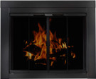 Ardmore Universal Glass Fireplace Doors for Masonry Wood Fireplaces