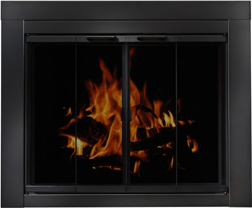 Ardmore Universal Glass Fireplace Doors by Residential Retreat