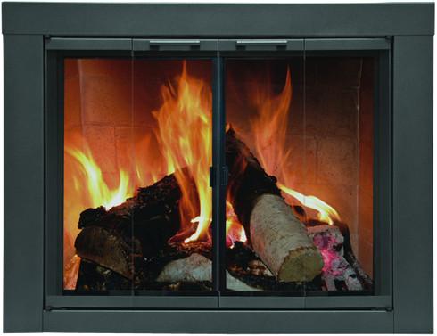 Carson Universal Glass Fireplace Doors for Masonry Wood Fireplaces