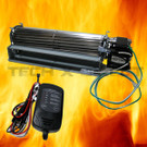 Universal Fireplace Fan Kit Blower Fits FK-24 Electronic Speed Control