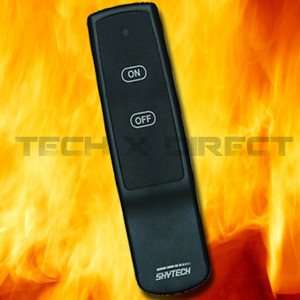 skytech 1001 a fireplace remote control on off. Black Bedroom Furniture Sets. Home Design Ideas