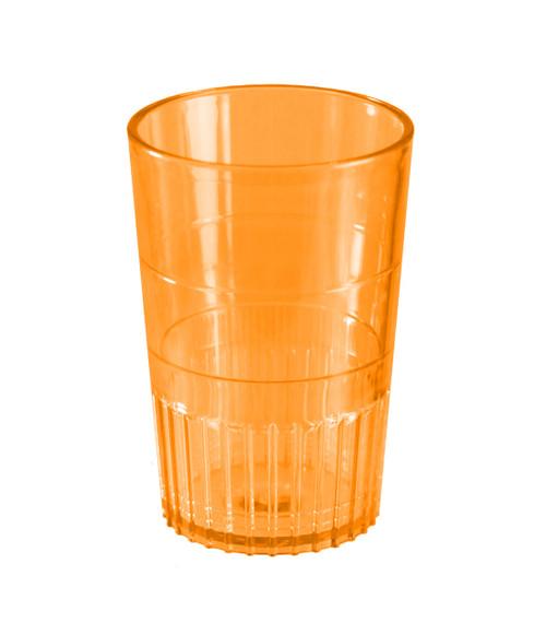 Bulk Plastic Shot Glasses   Orange Colour
