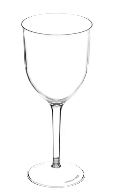 Clear Plastic Wine Glass 4oz and 6oz.