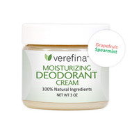 Moisturizing Deodorant Cream - Grapefruit/Spearmint