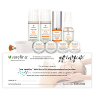 Verefina Mini Facial & Microdermabrasion Treatment Certificate - Sugarhouse, Utah