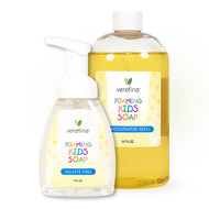 Foaming Kids Soap and 16 oz. Refill Package