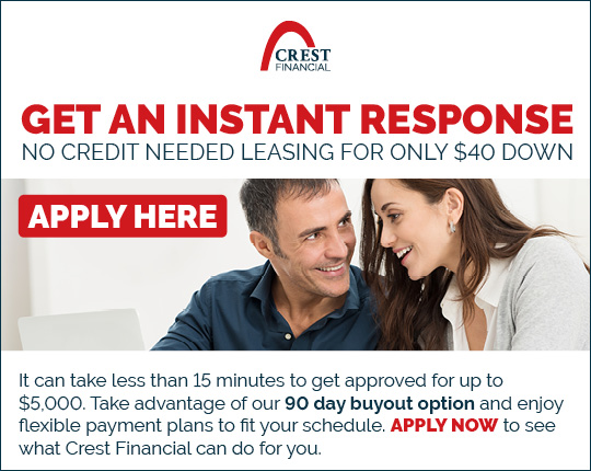 Crest Financial | Click to access application