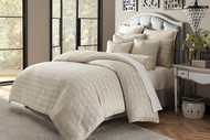 Carlyle Platinum Queen Comforter Set (Set of 9) (BCS-QS09-CRLYL-PLTN)