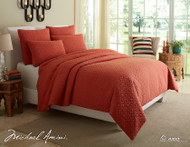 Fillmore Coral Queen Coverlet/Duvet (Set of 5) (BCS-QD05-FLMOR-COR)