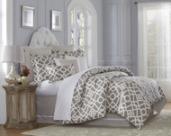 Harper Natural King Comforter Set (Set of 10) (BCS-KS10-HARPR-NAT)