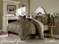 Imperial Bronze King Comforter Set (Set of 10) (BCS-KS10-IMPERL-BRZ)