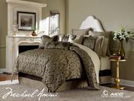 Imperial Bronze Queen Comforter Set (Set of 9) (BCS-QS09-IMPERL-BRZ)