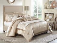 Palermo Sand King Comforter Set (Set of 10) (BCS-KS10-PLRMO-SAN)