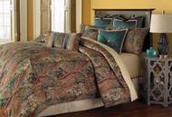 Seville Honey King Comforter Set (Set of 10) (BCS-KS10-SEVILE-HNY)