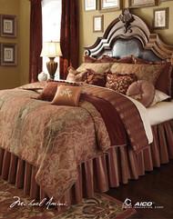 Woodside Park Spice King Comforter Set (Set of 13) (BCS-KS13-WDSPRK-SPI)