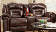 Avatar Custom Reclining Loveseat W/ Power Recline (Leather) (SOU-843-21P-LEATHER)