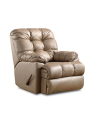 Bristol Custom Reclining Wall Hugger W/ Power Recline (Leather) (SOU-2103P-LEATHER)