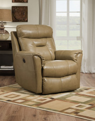 Flicker Custom Reclining Wall Hugger (Leather) (SOU-2143-LEATHER)
