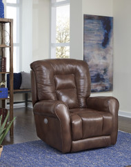 Grand Custom Reclining Wall Hugger W/ Power Recline (Leather) (SOU-2420P-LEATHER)