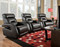 Viva Custom Reclining Wall Hugger W/ Power Recline (Leather) (SOU-2577P-LEATHER)