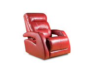 Viva Custom Reclining Wall Hugger W/ USB (Leather) (SOU-2577PP-LEATHER)