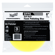 DFP6   Soft Buff DA Foam Polishing Disc - 6""