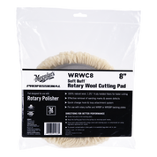 WRWC8  Soft Buff Rotary Wool Cutting Pad - 8""