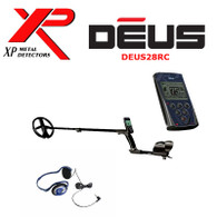 "XP DEUS With FX-02 Wired Backphone Heaphones + Remote + 11"" Coil"