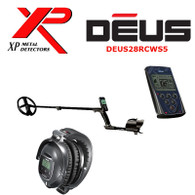 "XP DEUS With WS5 Full Sized Headphones + Remote + 11"" Coil"