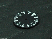 Plain Seamaster 300 Dial for ETA 2824 2836 Movement Triangle@12 White Superlume