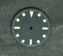 Plain Submariner Snowflake ETA 2824 / 2836 Watch Dial Yellow Superluminova